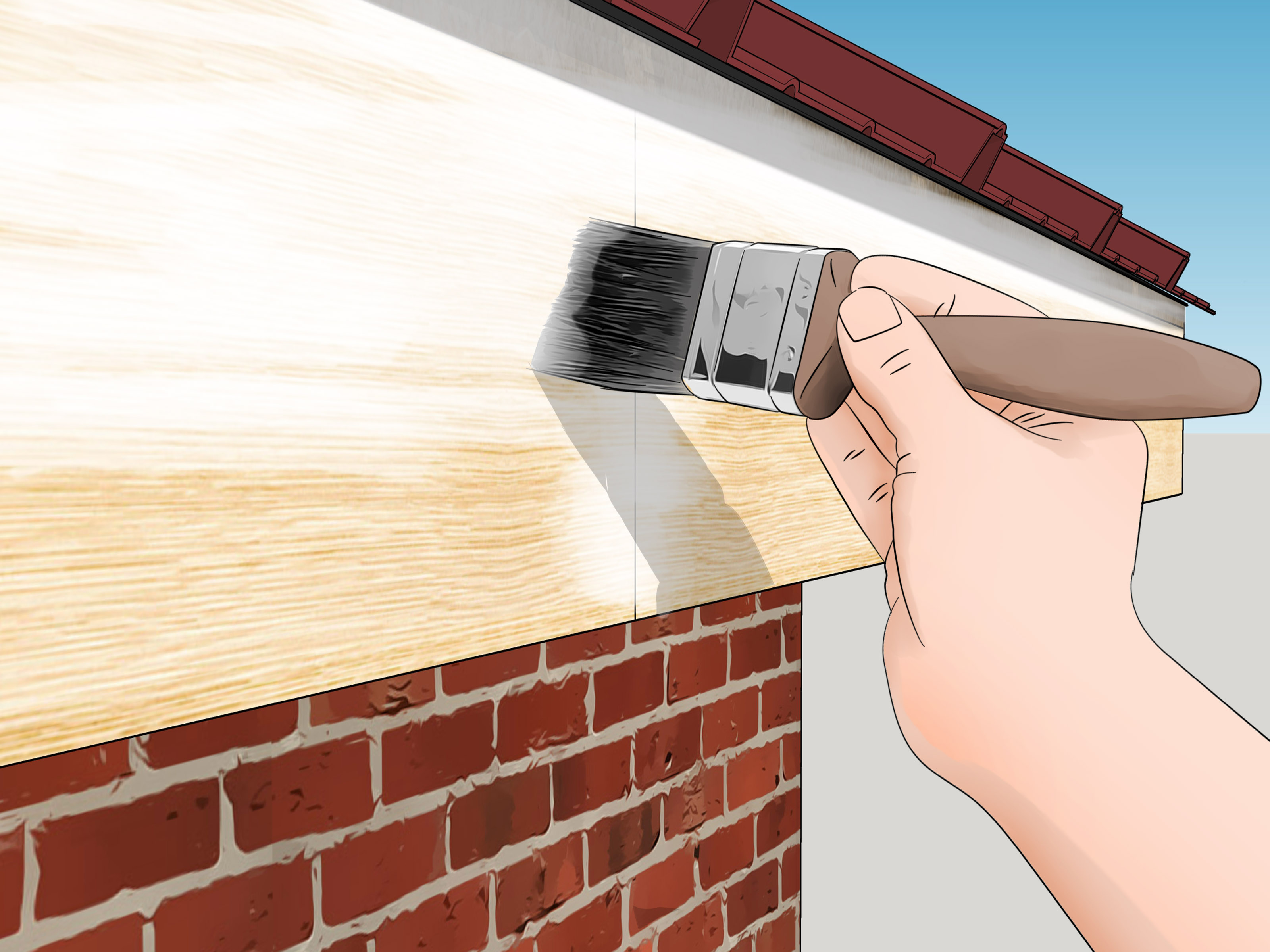 Fascia Board How To Replace A Fascia Board 11 Steps With Pictures Wikihow