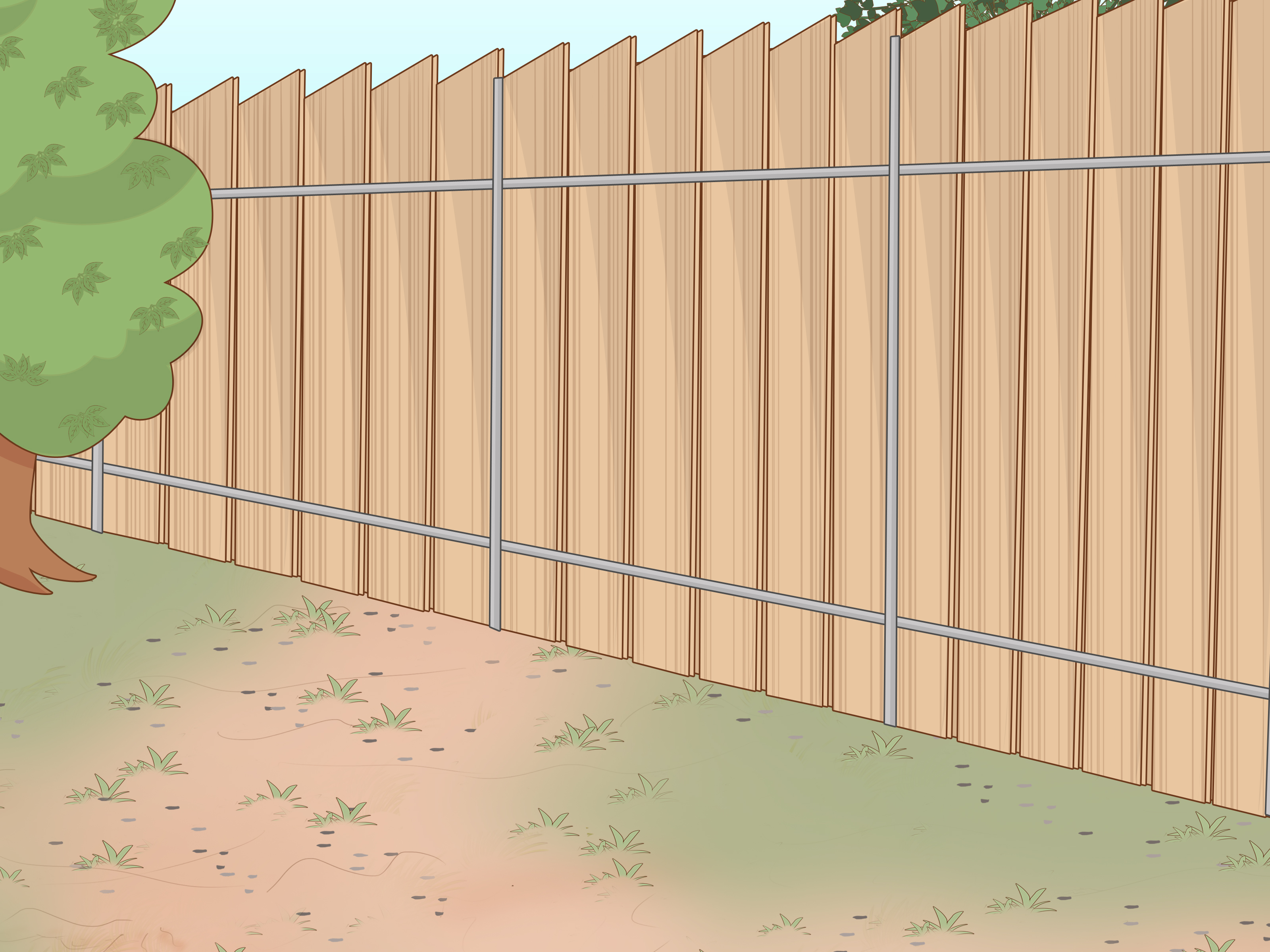 Wire Fencing How To Install Wire Fencing For Dogs With Pictures Wikihow