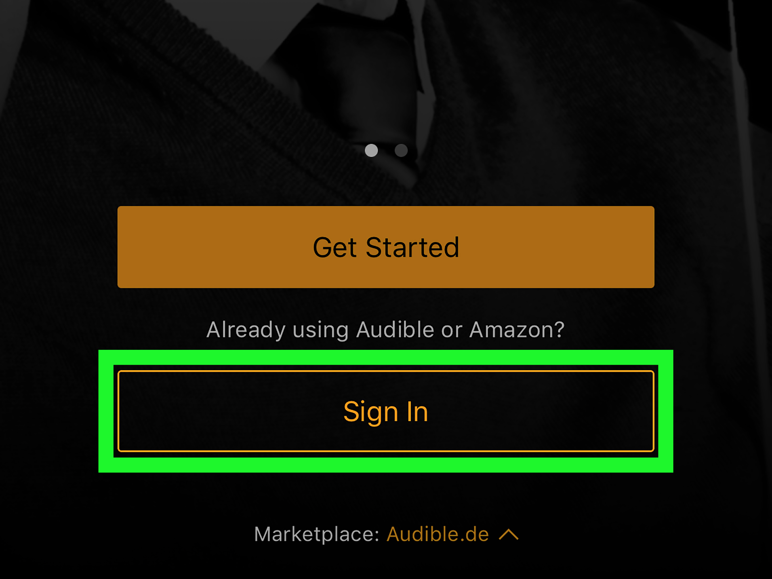 Amazon Audible On Ipad How To Change The Audible Marketplace On Iphone Or Ipad 9 Steps