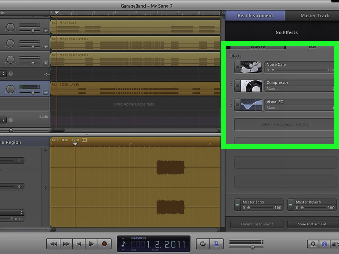 Fan Garageband How To Rap On Garageband 5 Steps With Pictures Wikihow