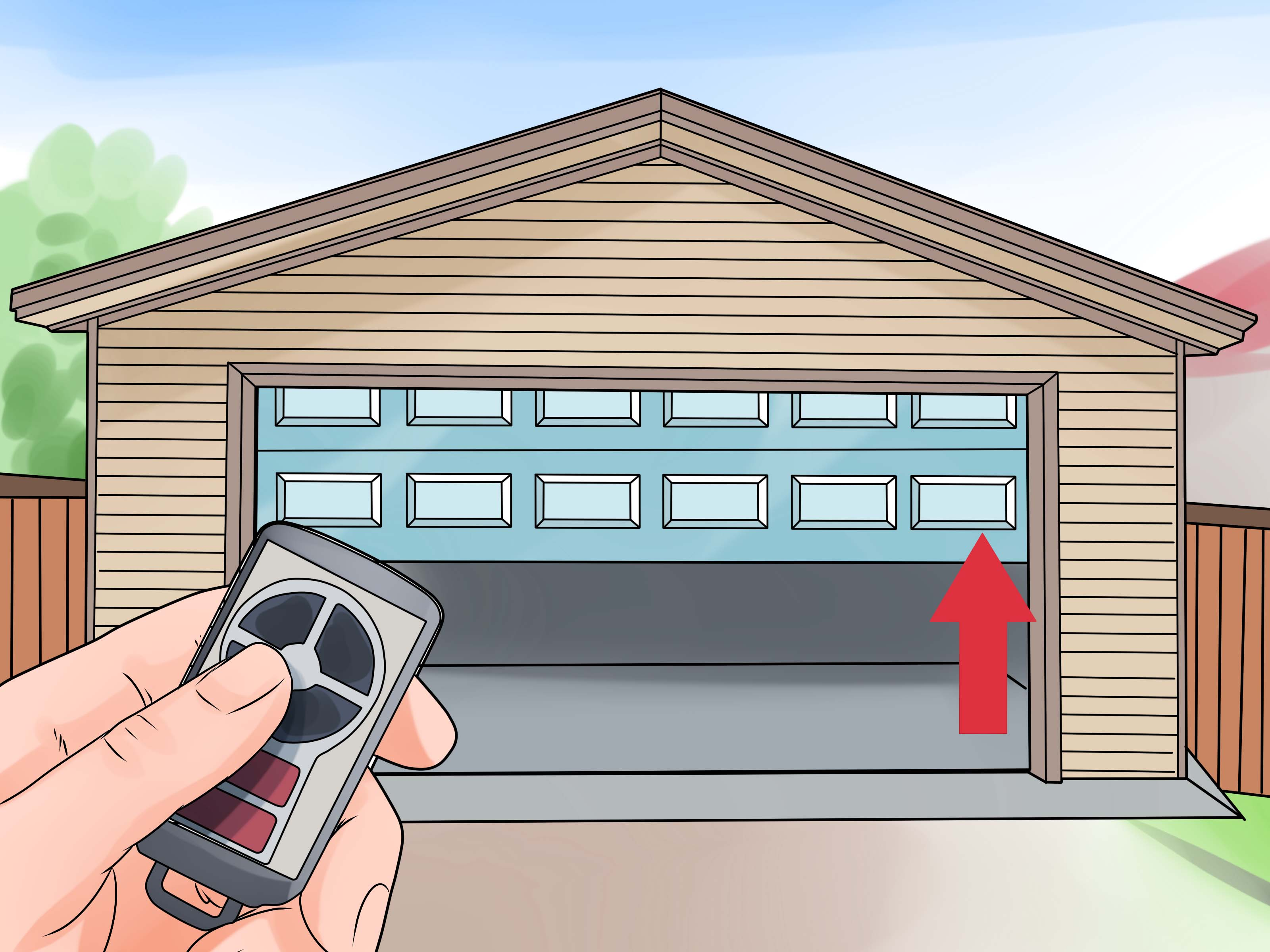 Garage Door Opener Installation Kit How To Install A Garage Door Opener With Pictures Wikihow