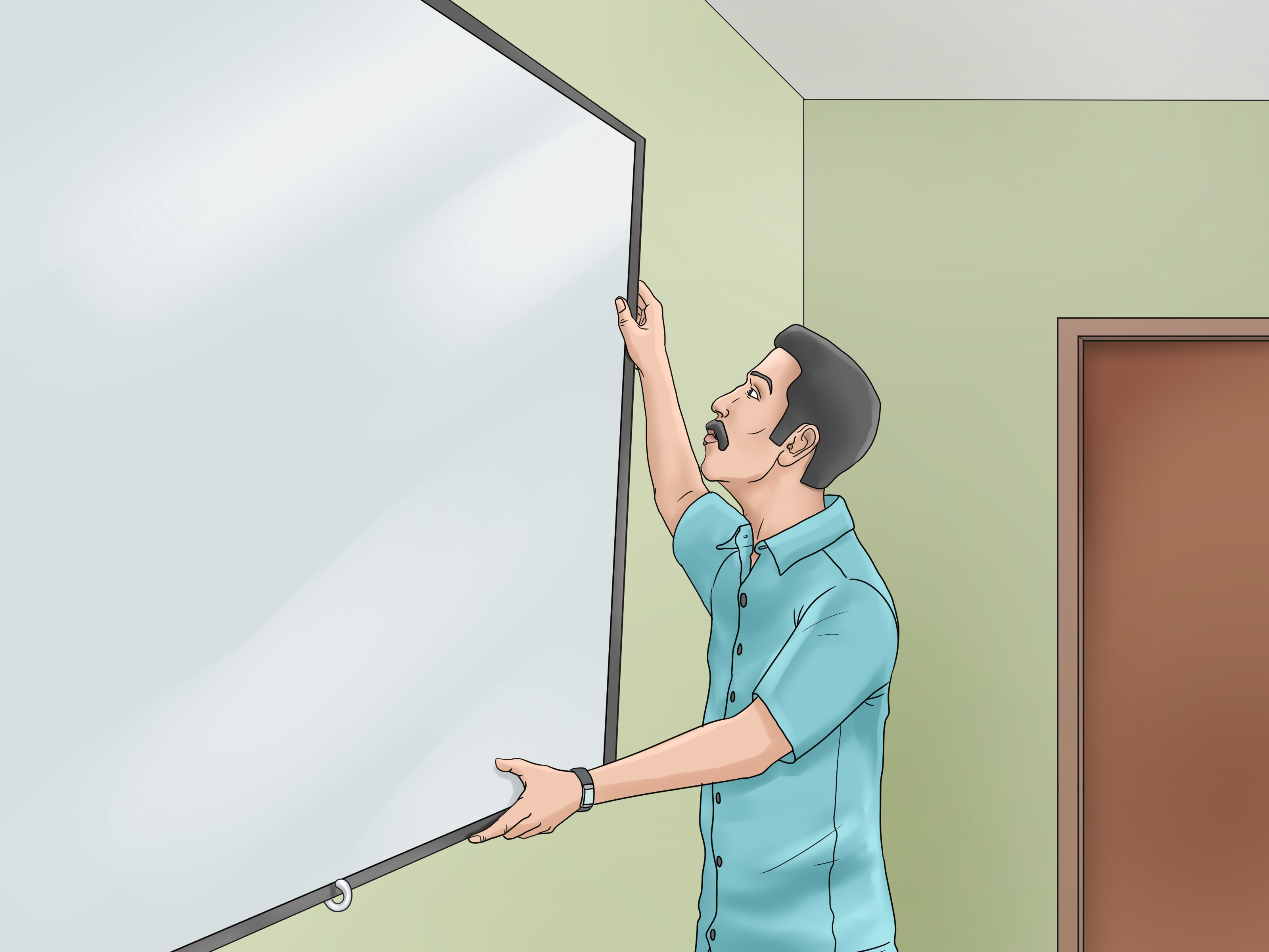 Turn A Wall Into A Whiteboard 3 Ways To Make A Whiteboard Wikihow