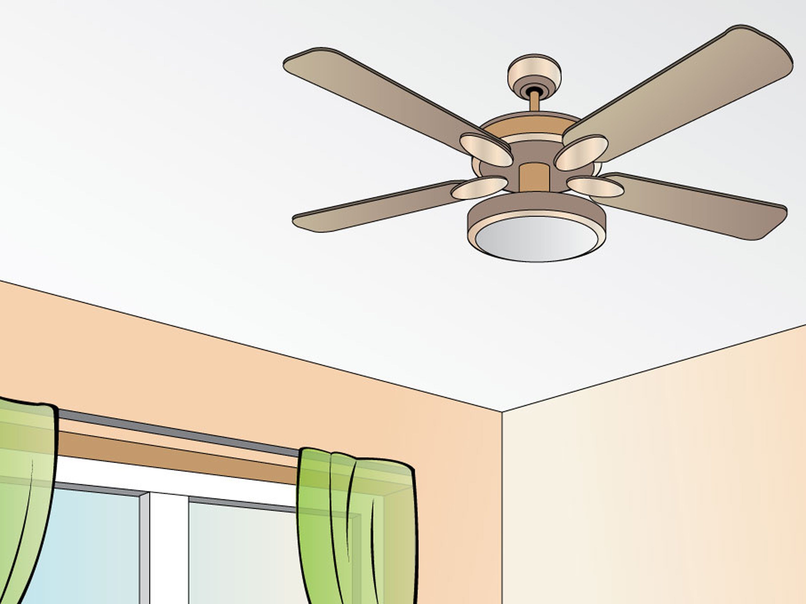Best Ceiling Fans For Small Rooms How To Choose The Right Ceiling Fan 4 Steps With Pictures