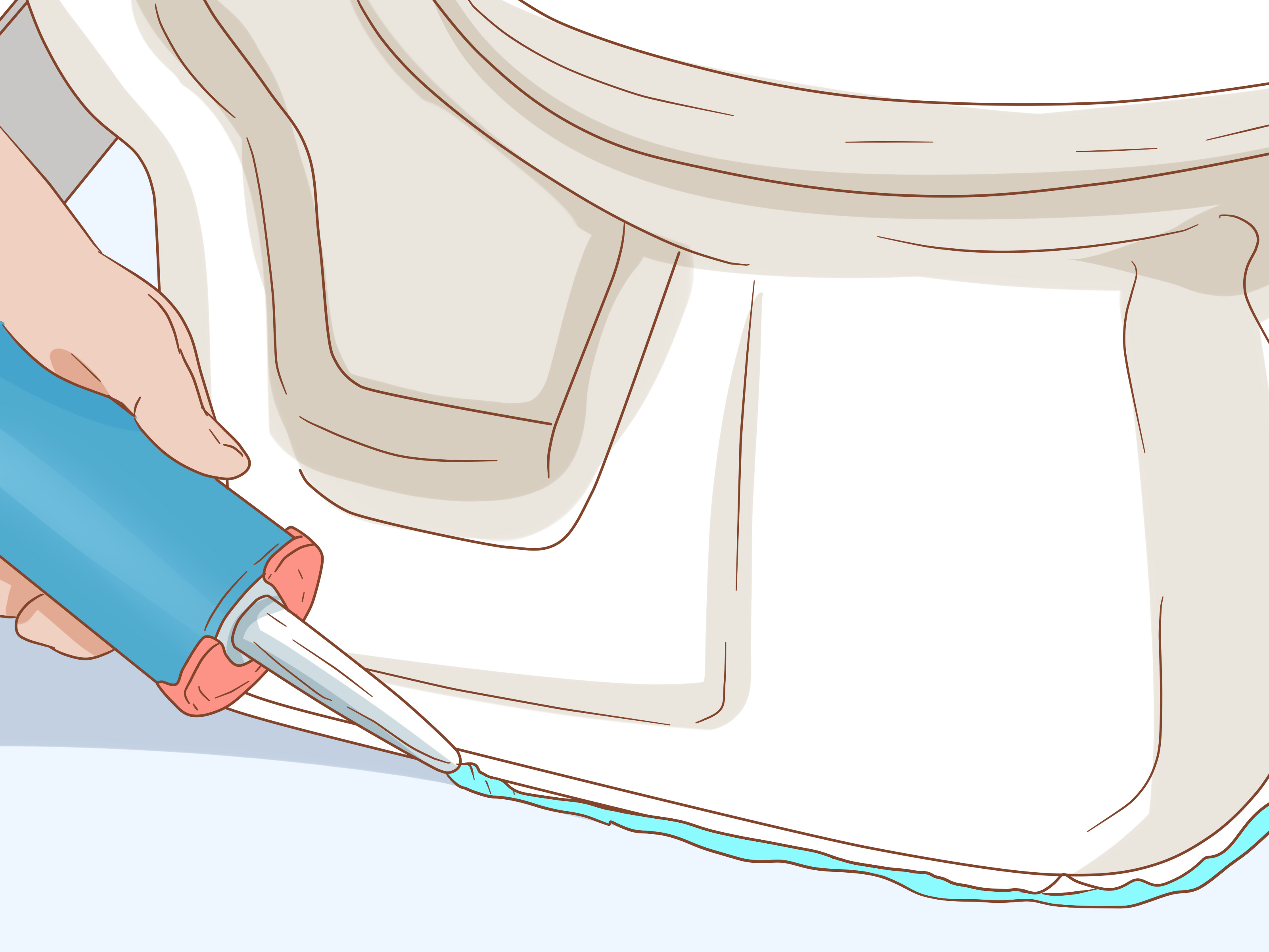 Install A Toilet How To Install A Toilet With Pictures Wikihow