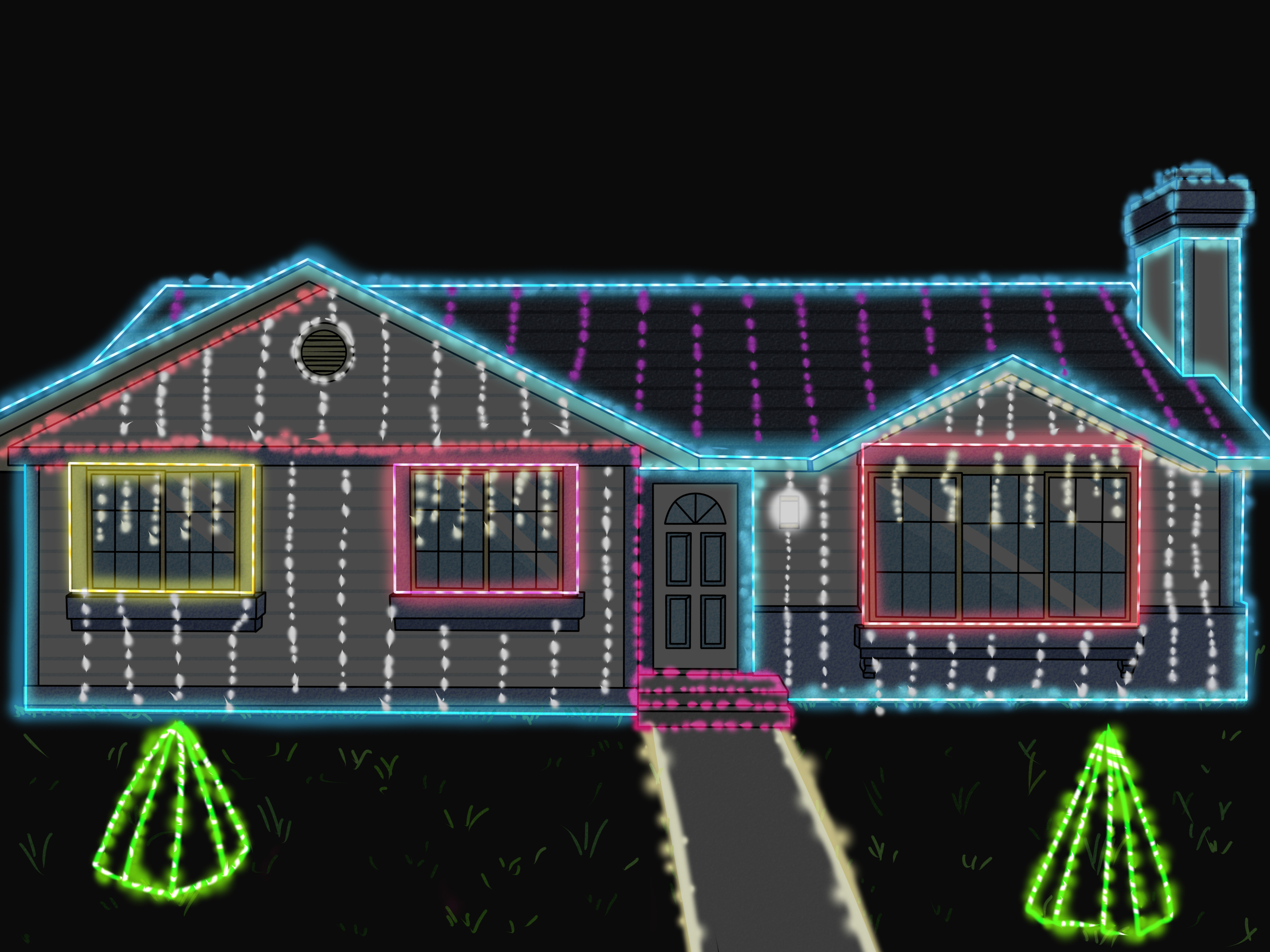 How To Make Your Christmas Lights Flash To Music 12 Steps