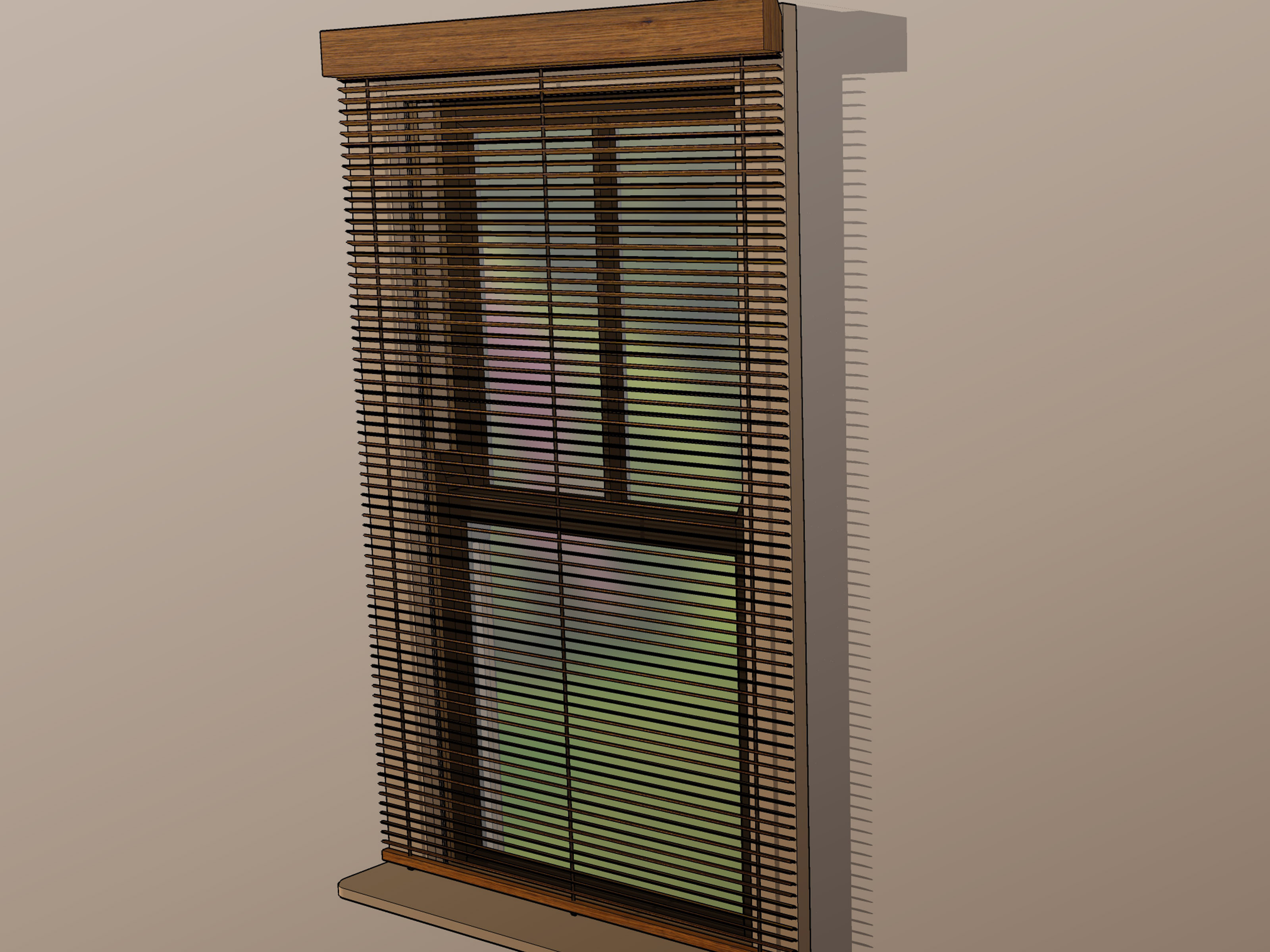 Wood Mini Blinds How To Measure Mini Blinds With Pictures Wikihow
