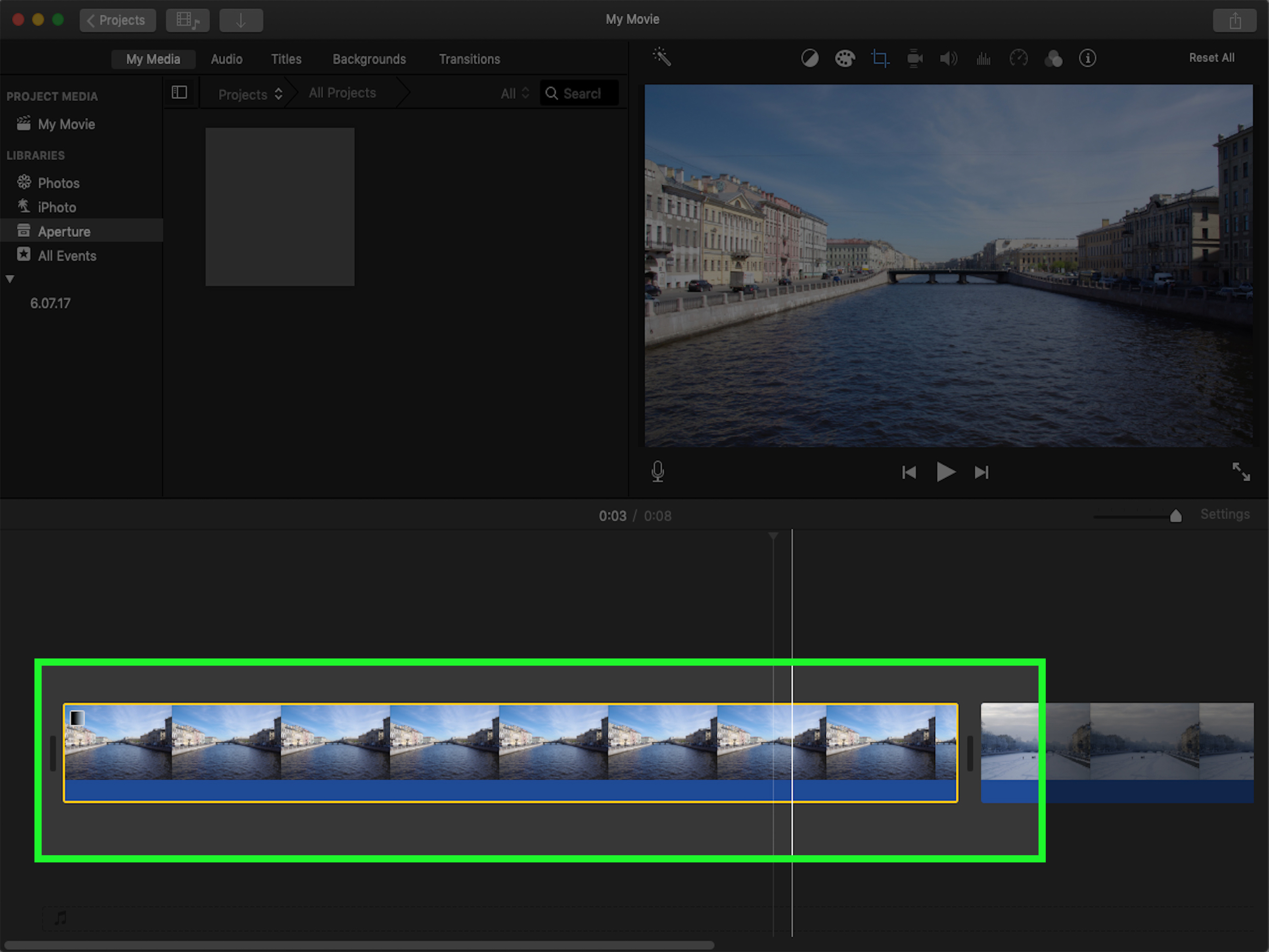 Garageband Fade In How To Add Fade In Imovie 15 Steps With Pictures Wikihow