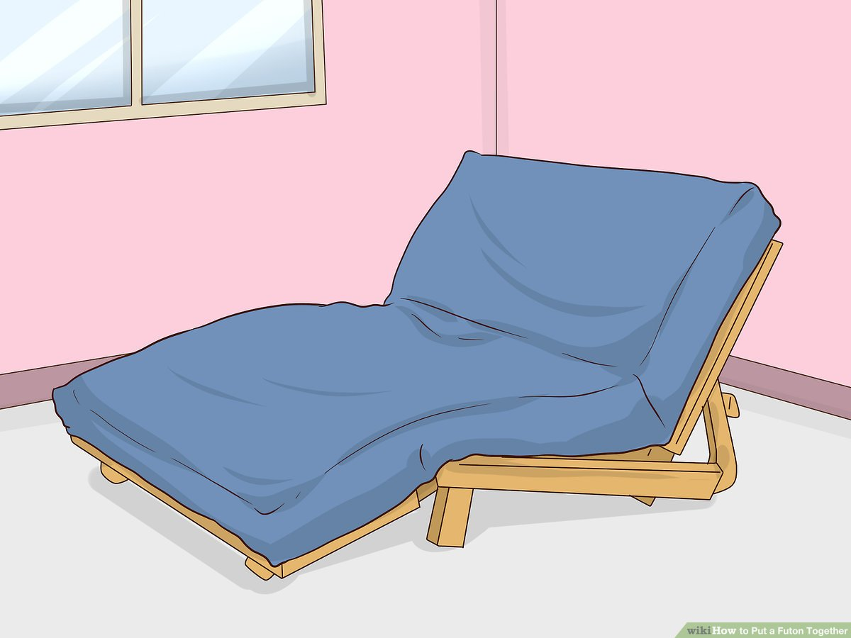 Futon Convertible 1 Place 3 Ways To Put A Futon Together Wikihow