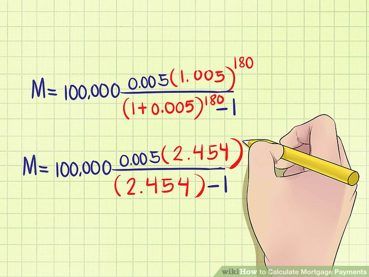 Find Mortgage How To Calculate Mortgage Payments (with Examples) - Wikihow