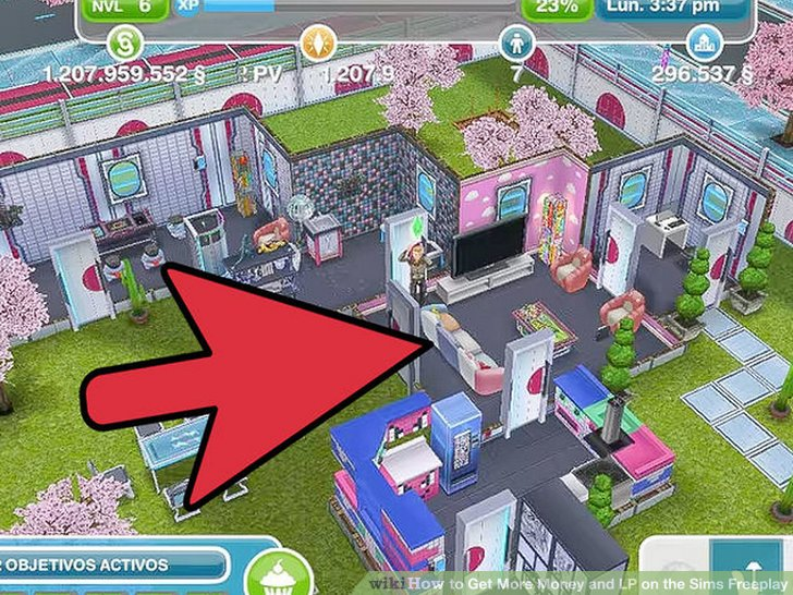Sims Freeplay Zwembad In De Tuin 4 Ways To Get More Money And Lp On The Sims Freeplay - Wikihow