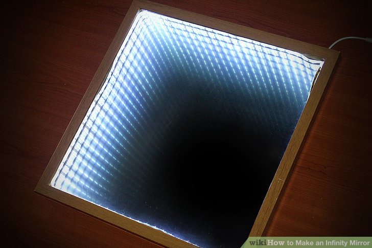 Specchio Infinito How To Make An Infinity Mirror (with Pictures) - Wikihow