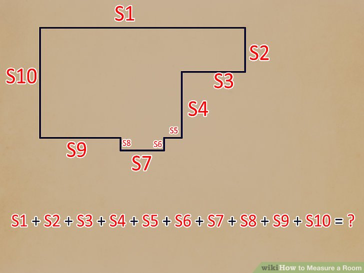 Raum Ausmessen 4 Ways To Measure A Room - Wikihow