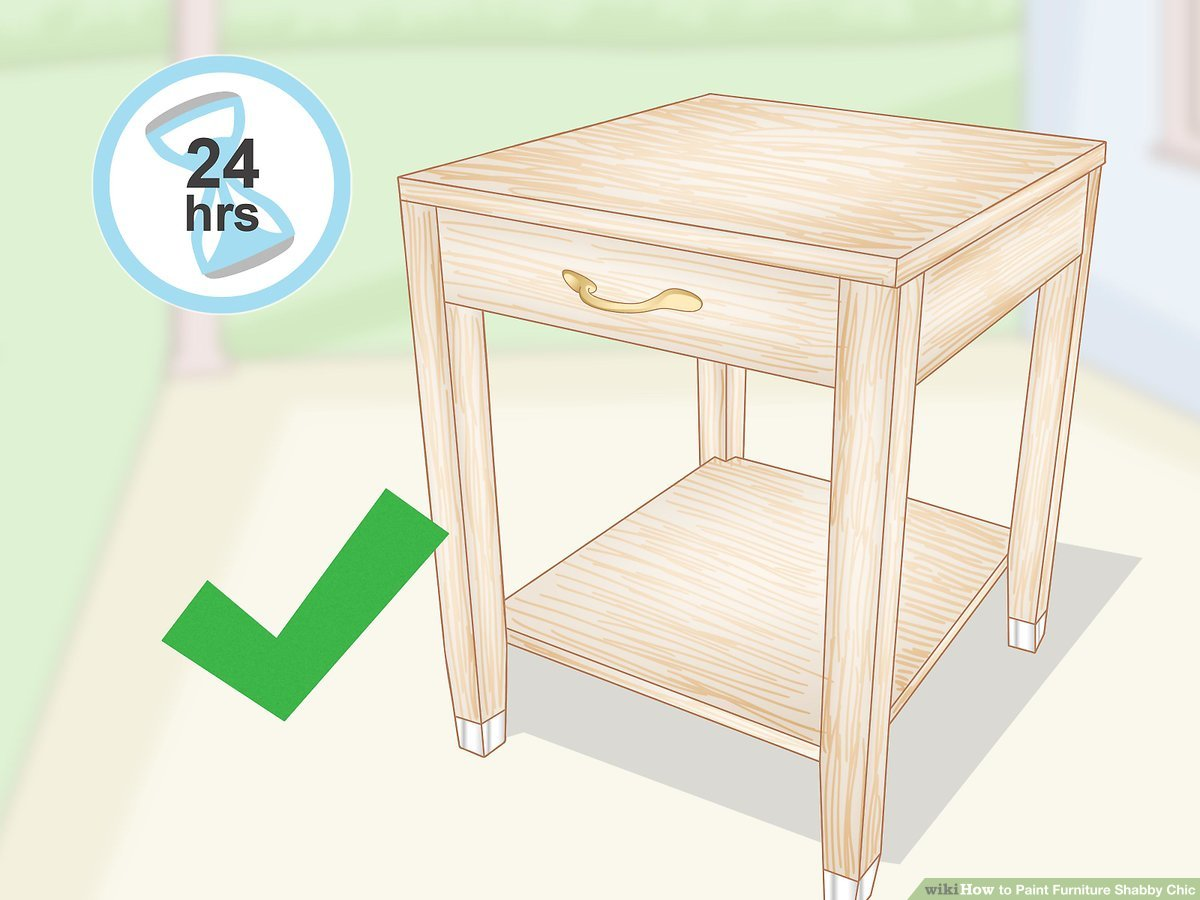 Shabby Chic Simple Ways To Paint Furniture Shabby Chic 15 Steps