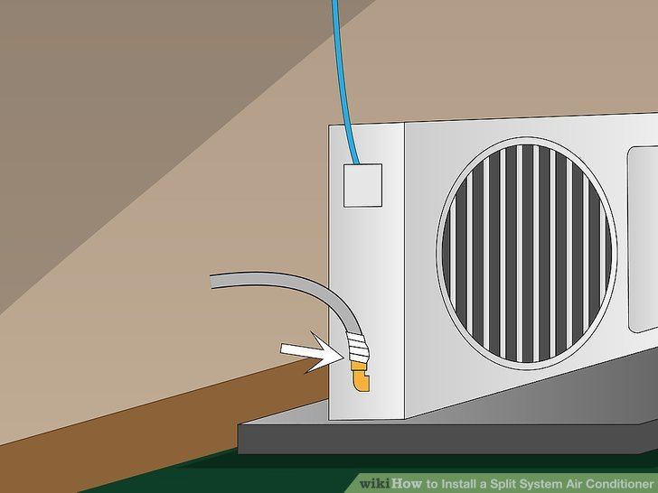 Split Klimaanlage Test How To Install A Split System Air Conditioner: 14 Steps