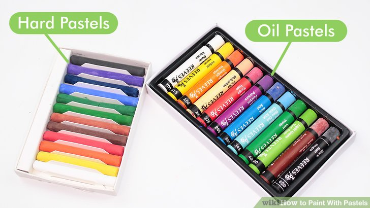 Pinturas Pastel Comprar How To Paint With Pastels: 13 Steps (with Pictures) - Wikihow