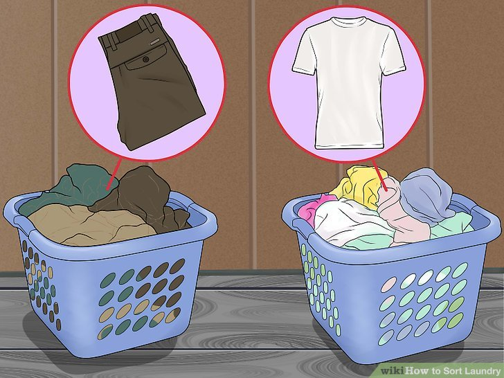 Como Poner Una Lavadora De Color How To Sort Laundry: 10 Steps (with Pictures) - Wikihow