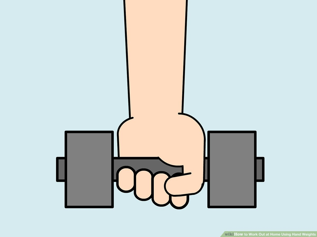 Sofa Workout 8 Ways To Work Out At Home Using Hand Weights Wikihow