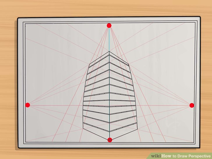 Silla Tower Wood 5 Easy Ways To Draw Perspective - Wikihow