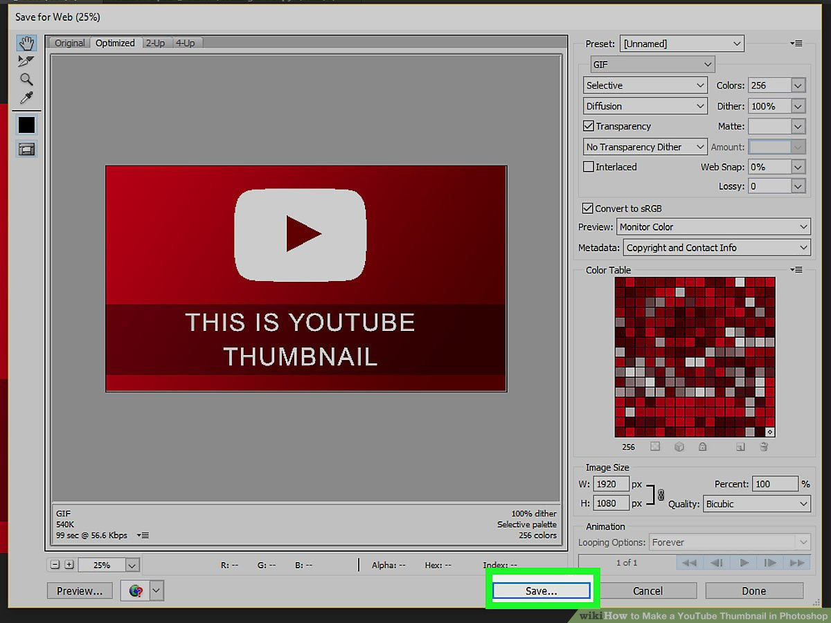 Photoshop 6 How To Make A Youtube Thumbnail In Photoshop 6 Steps