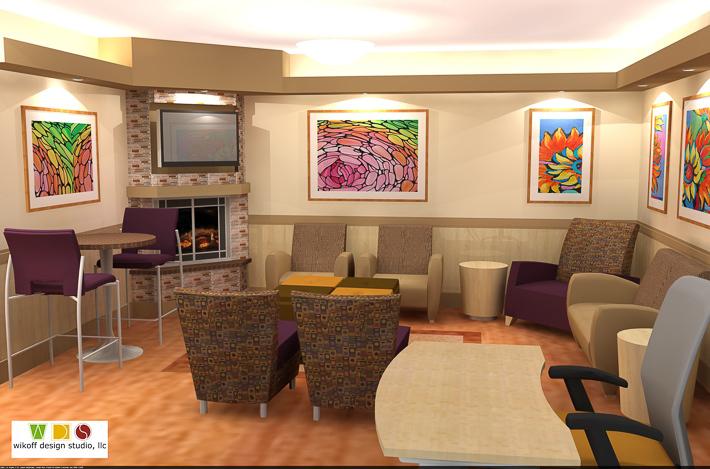 Ronald mcdonald house family room renown health wikoff for Ronald mcdonald family room