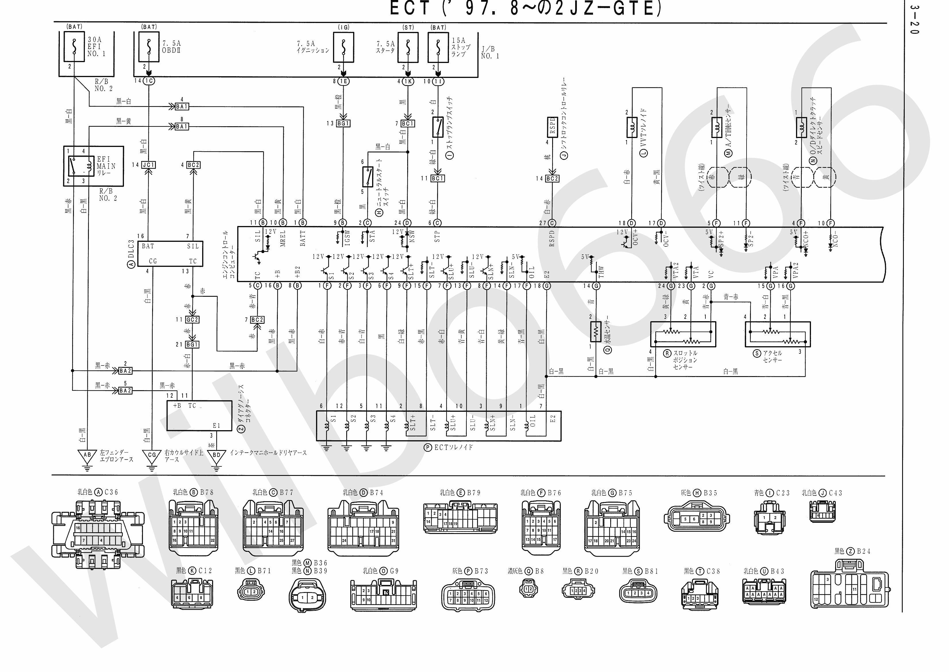 2jz gte engine wiring diagram