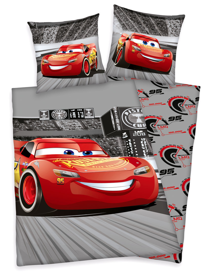 Bettwäsche Automotiv Disneys Cars 3 Bettwäsche 80x80 135x200cm