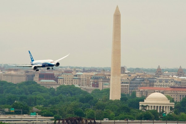 Air Berlin Flight 787 Landing Washington Dc - Wild About Travel
