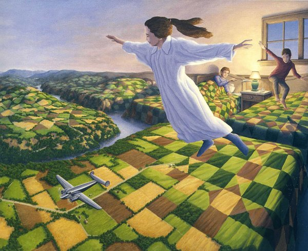 Mind-Melting Optical Illusion Paintings By Rob Gonsalves (5)