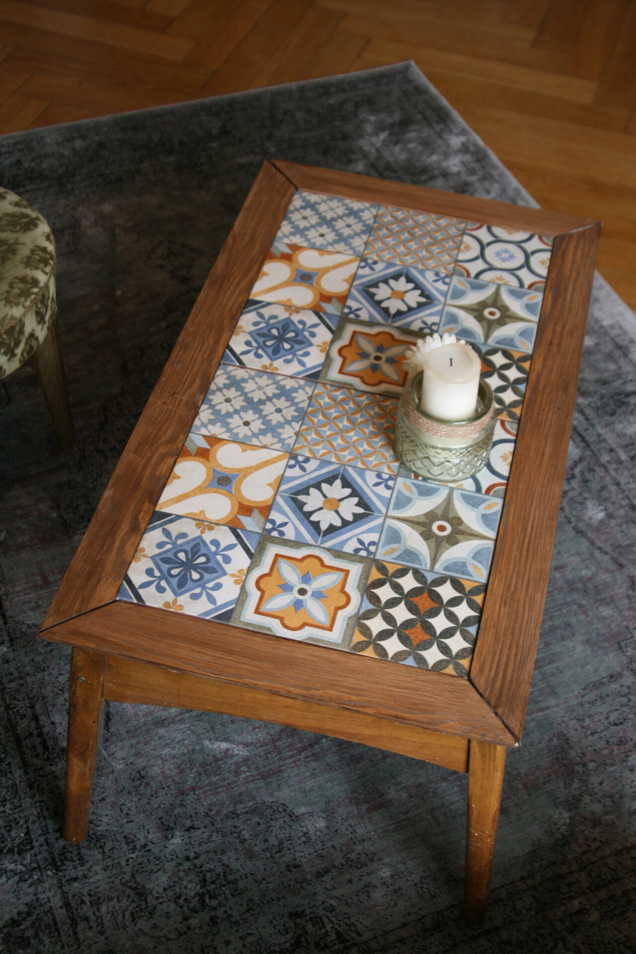 Boho Möbel Upcycling: Boho Couchtisch - Wild At Heart And Free In Mind
