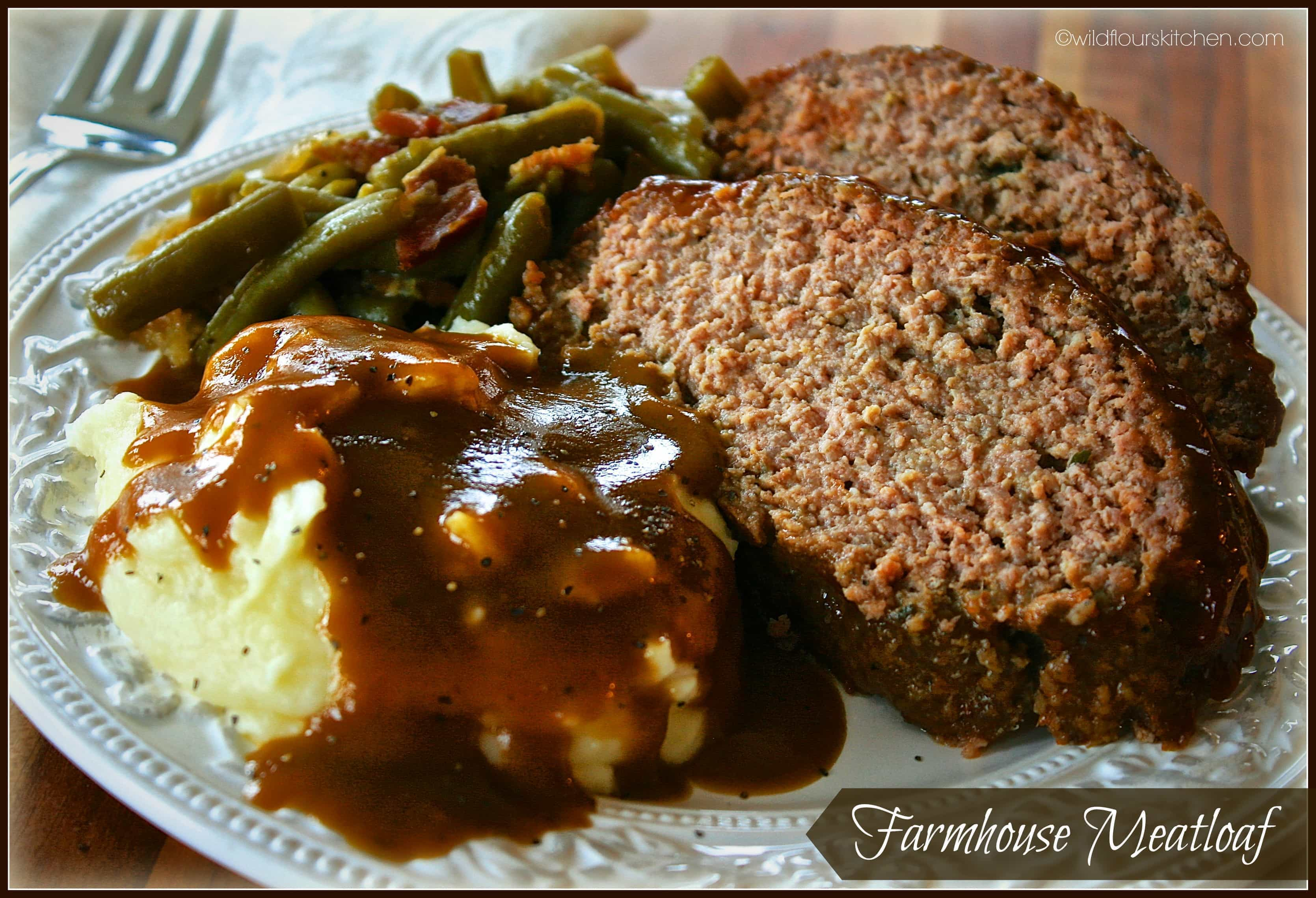 Farmhouse Rules Potato Soup Moist And Juicy Farmhouse Meatloaf Wildflour 39s Cottage Kitchen