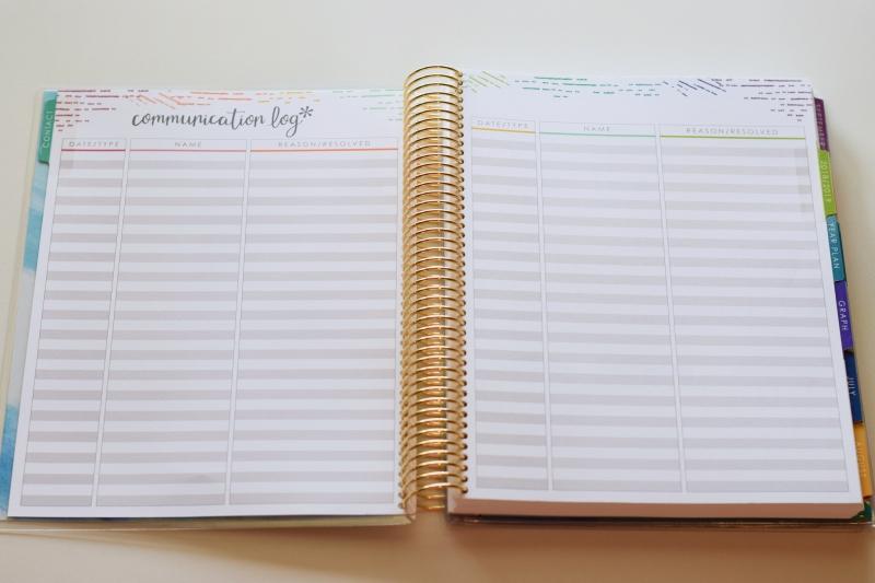 Erin Condren 2018-2019 Teacher Lesson Planner Review \u2013 Brand New