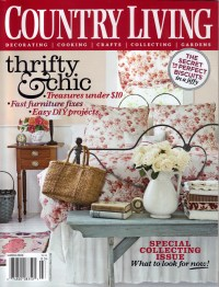 Country Living Magazine Only $5.99/Year!