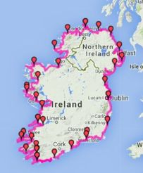 Wild ireland Tour route resize