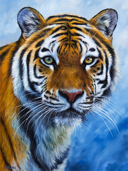 Lifelike 3d Wallpaper Tiger Painting For Sale How To Draw And Paint Animals
