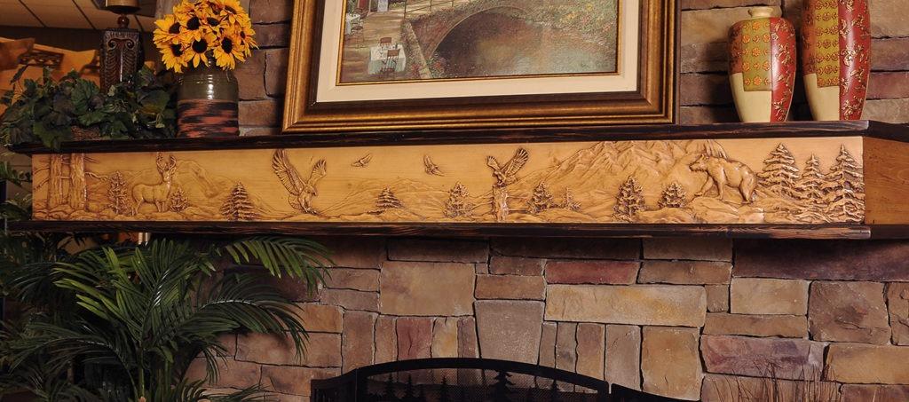Fireplace Mantels Designer Shelves