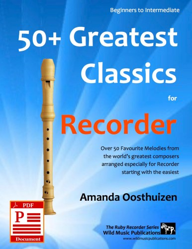 50+ Greatest Classics for Recorder Download