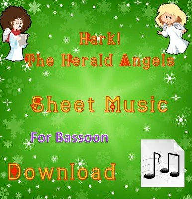 Hark! The Herald Angels Sing - BAssoon Sheet Music Download