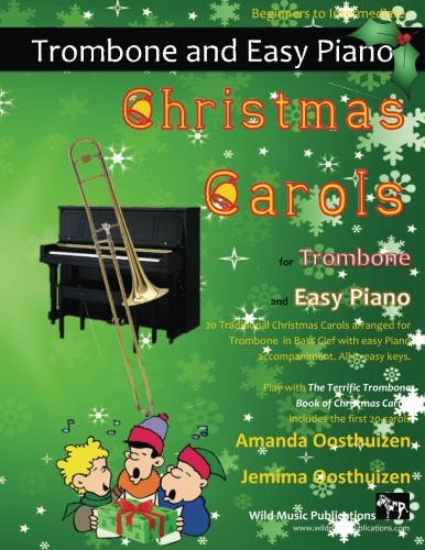 Christmas Carols for Trombone and Easy Piano