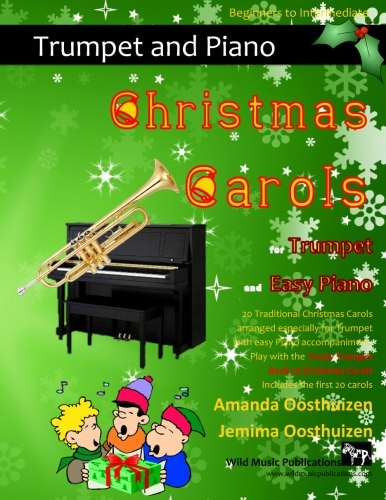 Christmas Carols for Trumpet and Easy Piano