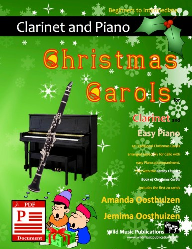 Christmas Carols for Clarinet and Easy Piano Download