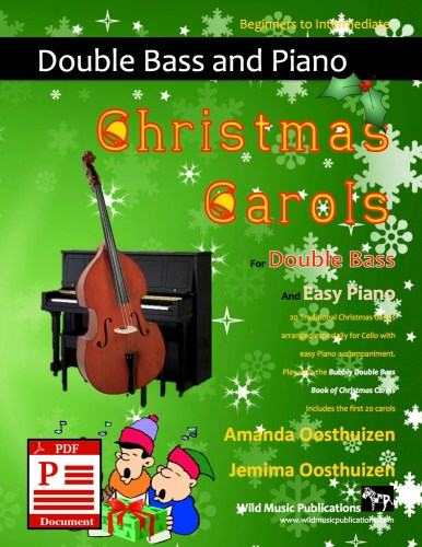 Christmas Carols for Double Bass and Easy Piano Download