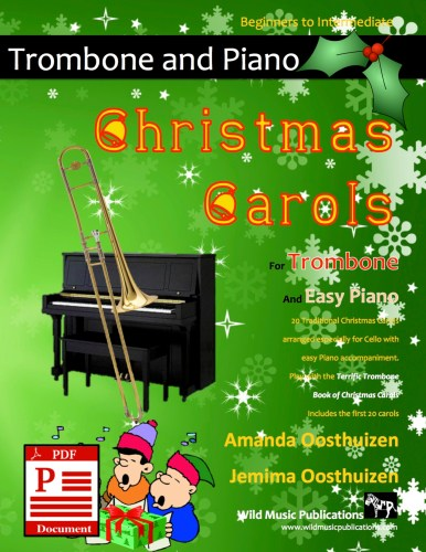 Christmas Carols for Trombone and Easy Piano Download