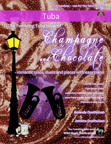 The Twinkling Tuba book of Champagne and Chocolate