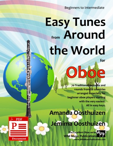 Easy Tunes from Around the World for Oboe Download