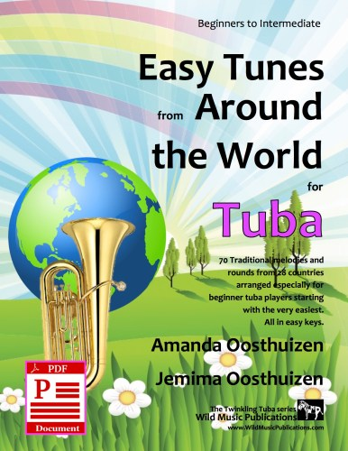 Easy Tunes from Around the World for Tuba Download