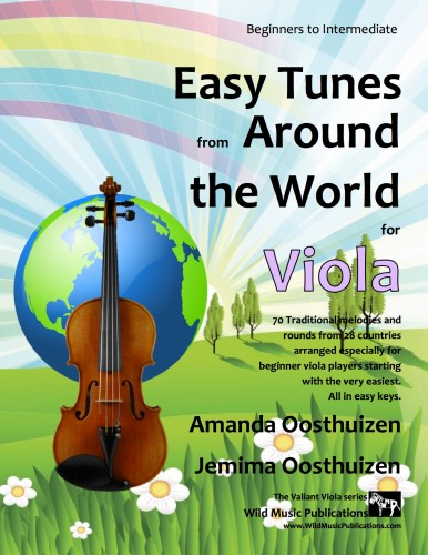 Easy Tunes from Around the World for Viola