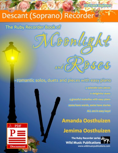 The Ruby Recorder Book of Moonlight and Roses Download