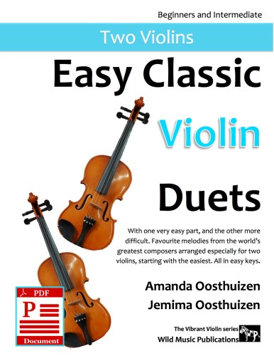 Easy Classic Violin Duets Download