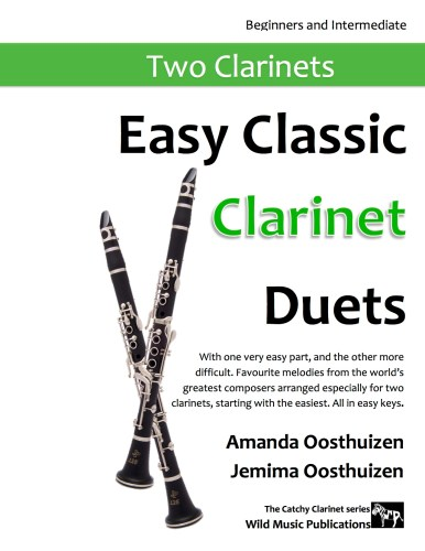 Easy Classic Clarinet Duets