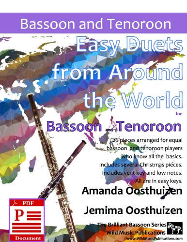 Easy Duets from Around the World for Bassoon and Tenoroon Download